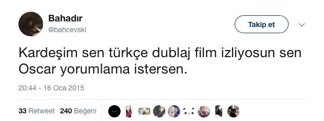 Türkçe Dublaja Nefret Kusan Tweet'ler galerisi resim 10
