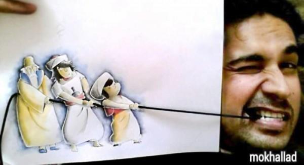 Çizimlerini Gerçek Yaşama Uyarlayan Sanatçı galerisi resim 13