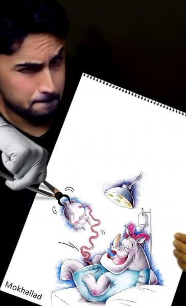 Çizimlerini Gerçek Yaşama Uyarlayan Sanatçı galerisi resim 18