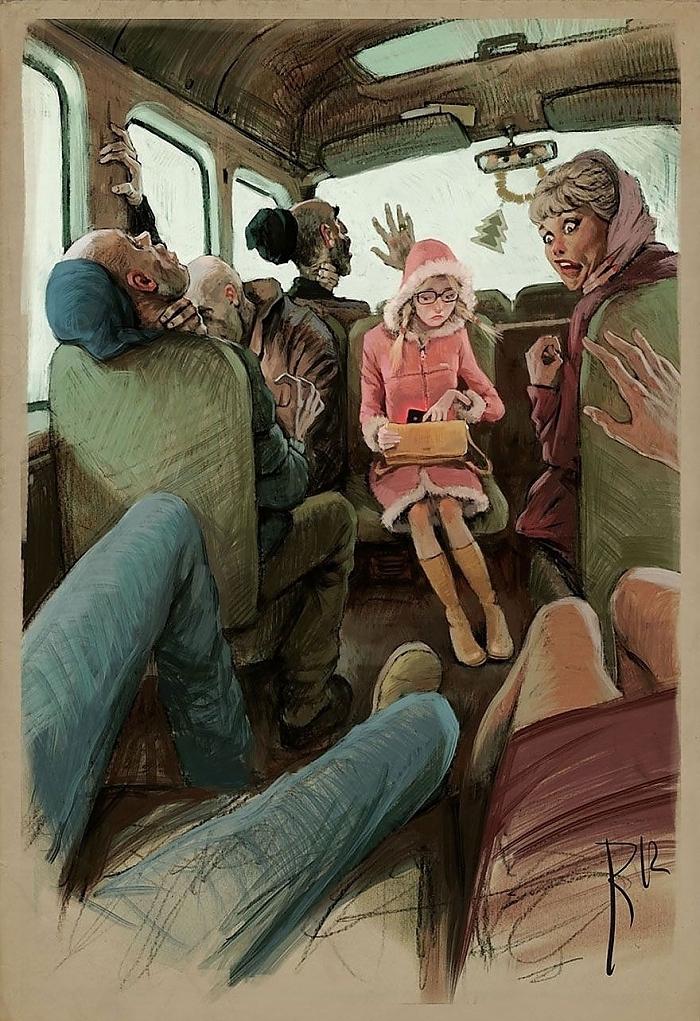 Rus Ressamdan Düşündüren Aykırı Çalışmalar galerisi resim 2
