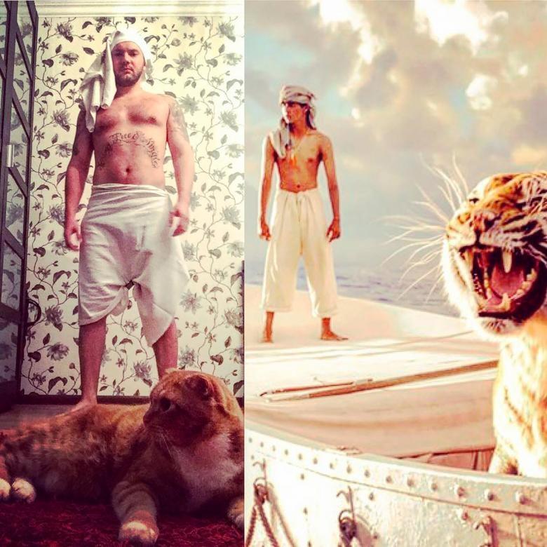 Hollywood Sahneleri Komik Bir Şekilde Tekrar Canlandı galerisi resim 7