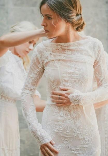 Sonbaharda Evlenmeyi Düşünenler İçin Gelinlik Modelleri galerisi resim 3