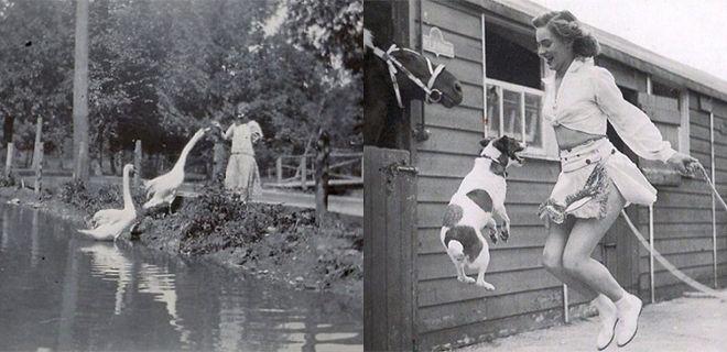 Hayvanlarının Sahipleriyle Çekilmiş Nostaljik Fotoğrafları