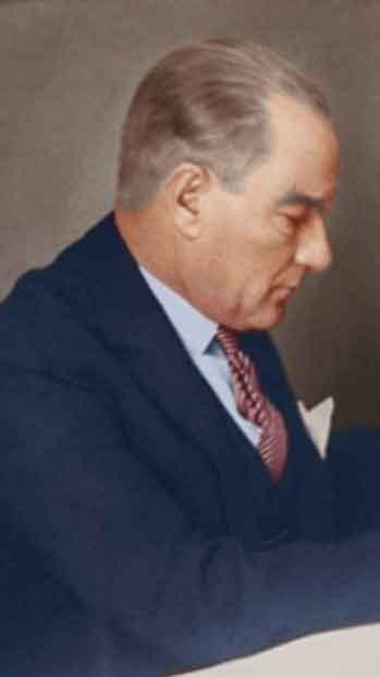 Renklendirilmiş Atatürk Fotoğrafları Çok Özel Resimler galerisi resim 22