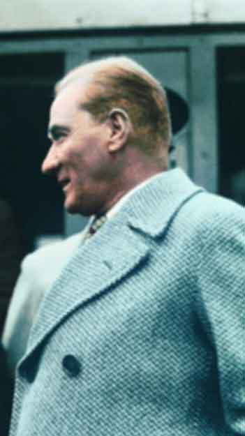 Renklendirilmiş Atatürk Fotoğrafları Çok Özel Resimler galerisi resim 23