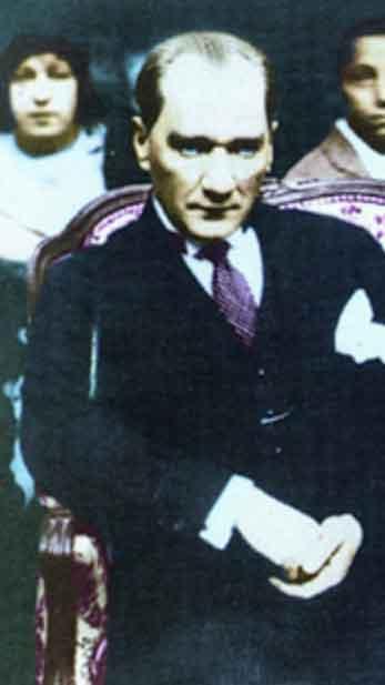 Renklendirilmiş Atatürk Fotoğrafları Çok Özel Resimler galerisi resim 25