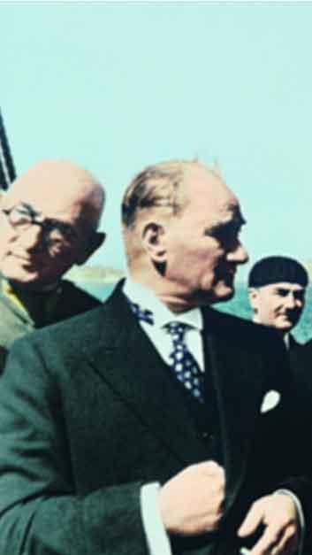 Renklendirilmiş Atatürk Fotoğrafları Çok Özel Resimler galerisi resim 30
