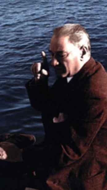 Renklendirilmiş Atatürk Fotoğrafları Çok Özel Resimler galerisi resim 31
