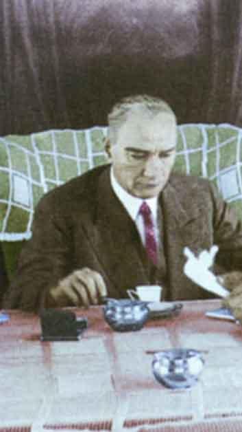 Renklendirilmiş Atatürk Fotoğrafları Çok Özel Resimler galerisi resim 32