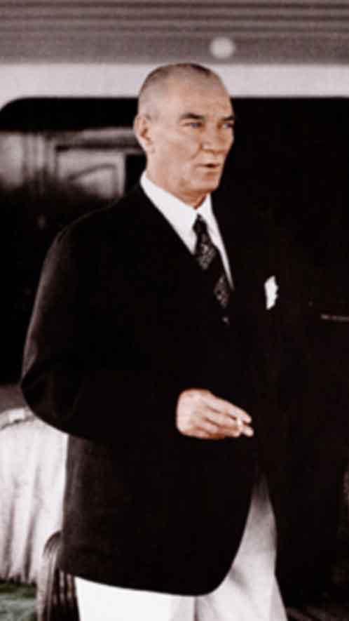 Renklendirilmiş Atatürk Fotoğrafları Çok Özel Resimler galerisi resim 46
