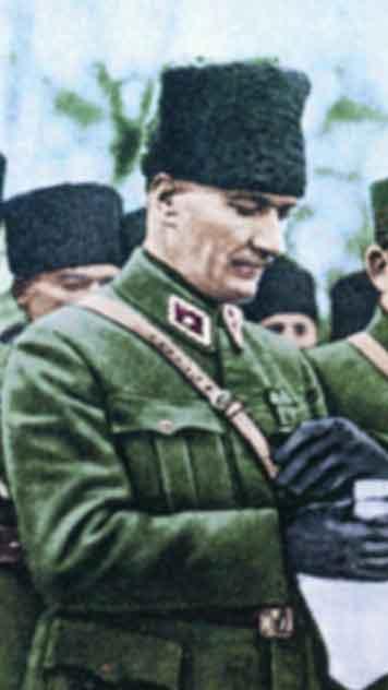 Renklendirilmiş Atatürk Fotoğrafları Çok Özel Resimler galerisi resim 6
