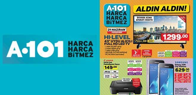 A101 21 Haziran 2018 Aktüel Ürün Kataloğu - A101 Haftanın İndirimleri