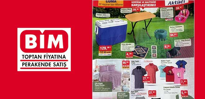 BİM 22-26 Haziran Aktüel Ürünler Kataloğu & Fırsat Ürünleri