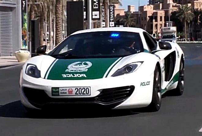 Dubai Polisinin Süper Lüks Arabaları galerisi resim 6