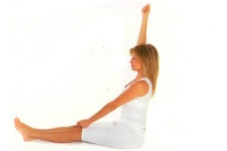 Oturarak Yapılan Yoga Hareketleri galerisi resim 2
