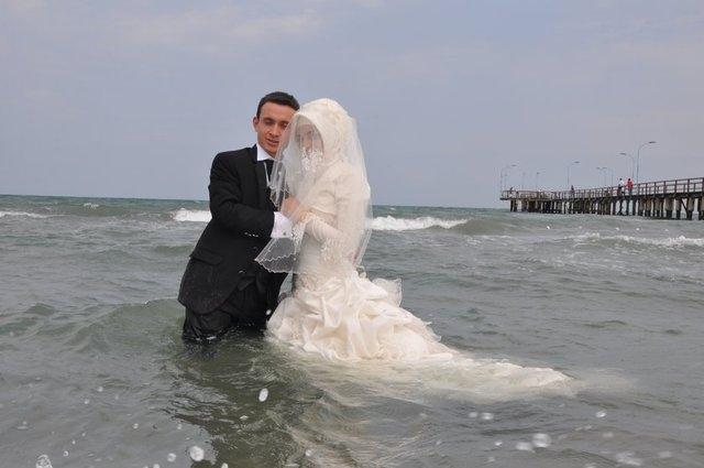 Düğün Hatırasına Son Noktayı Koydular galerisi resim 4