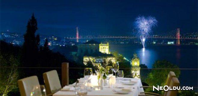 İstanbul'da Muhteşem Akşam Yemeği İçin Mekan Önerileri