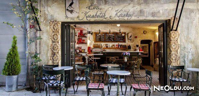İstanbul'un En Lüks Kafeleri
