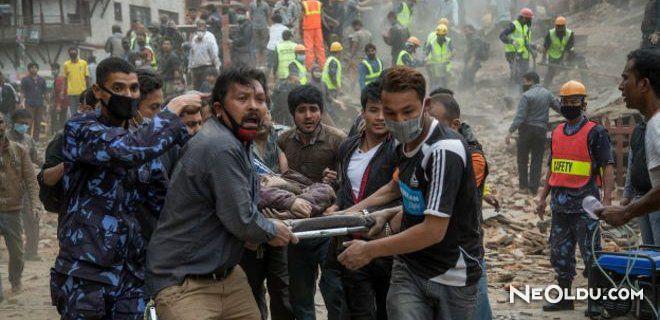Nepal'deki Deprem