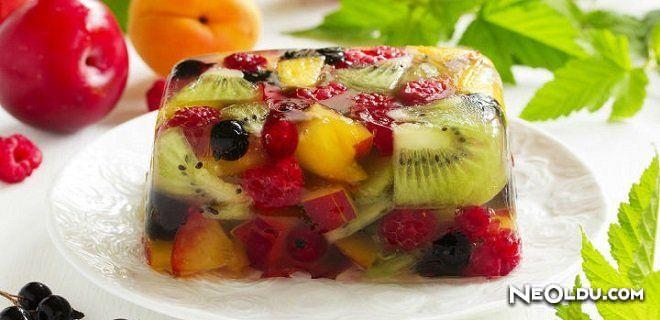 J 246 Leli Meyve Salatası Tarifi