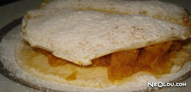 Elmalı Krep Tarifi