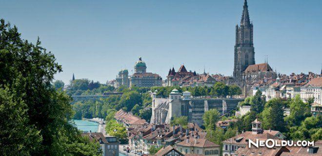 Bern'de Gezilip Görülmesi Gereken Yerler