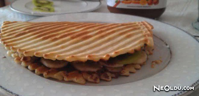 Evde Waffle Hamuru Tarifi