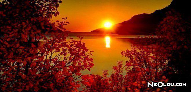 Güneşin En Güzel Doğduğu ve Battığı Yerler