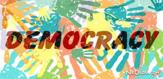 Demokrasi Nedir? Demokrasinin Çeşitleri Nelerdir?