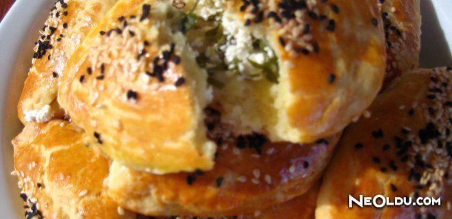 Patatesli Mahlepli Poğaça Tarifi