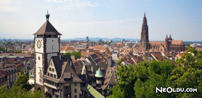 Freiburg'da Gezilip Görülmesi Gereken Yerler