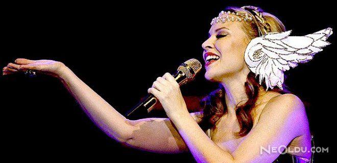 Kylie Minogue İstanbul' da