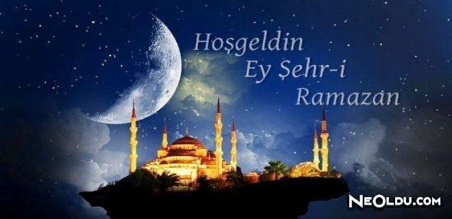 En Güzel Ramazan Ayı Duaları, Tebrik Mesajları