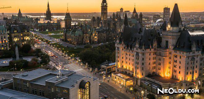 Ottawa'da Gezilip Görülmesi Gereken Yerler