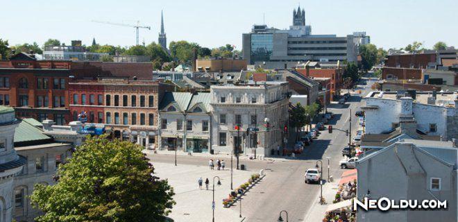 Kingston Ontario'da Gezilip Görülmesi Gereken Yerler