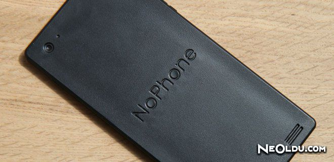 Akılsız Telefon NoPhone 5 Dolara Satışta