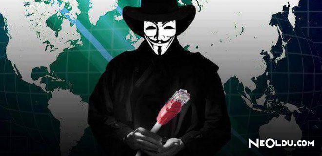 Anonymous'un Yaptığı 10 Örnek Davranış