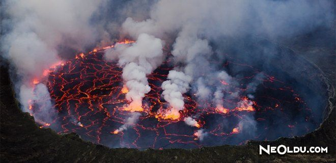 Yeryüzünde En Tehlikeli 10 Aktif Yanardağ