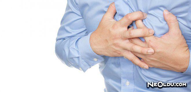 Erkeklerde göğüs ağrısı neden olur