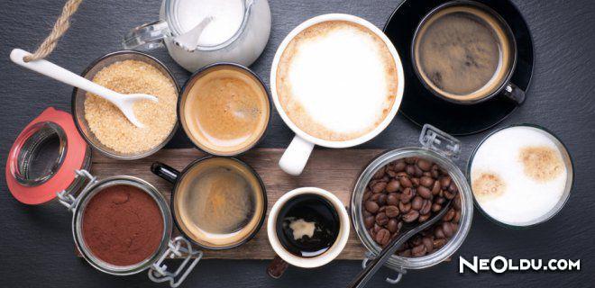 Kafein İçeren Yiyecek ve İçecekler Nelerdir?