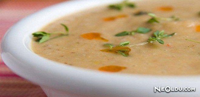 Sebzeli Kestane Çorbası Tarifi