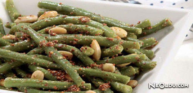 Hardallı Taze Fasulye Salatası Tarifi