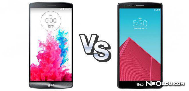 LG G3 - G4 Karşılaştırması