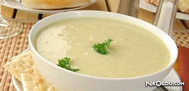 Sütlü Kereviz Çorbası Tarifi