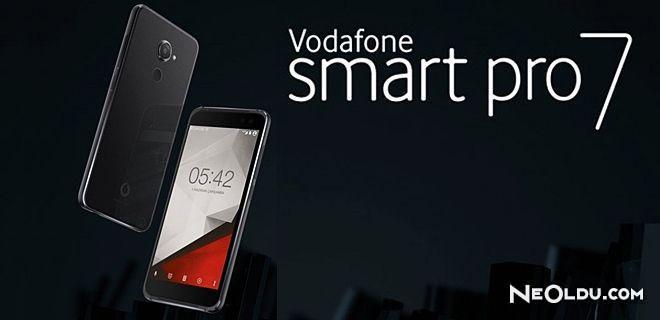 Vodafone Smart Pro 7 Tanıtıldı
