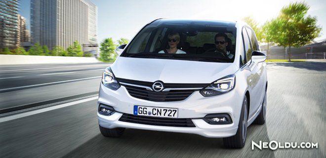 Opel Zafira 2017 Ön İnceleme