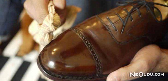 Deri Ayakkabı ve Deri Eşyaların Bakımı