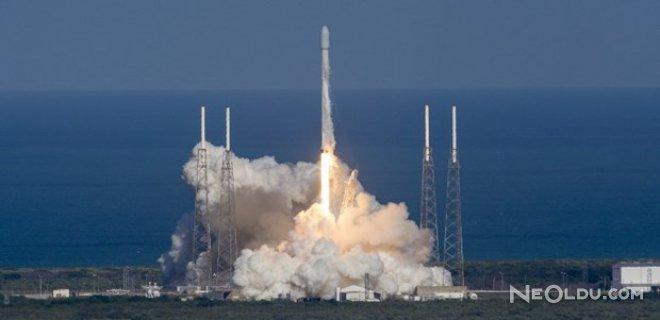 Uzaya Kullanılmış Roket Fırlatıldı