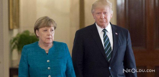 Trump, Merkel'in Elini Sıkmama Sebebini Açıkladı