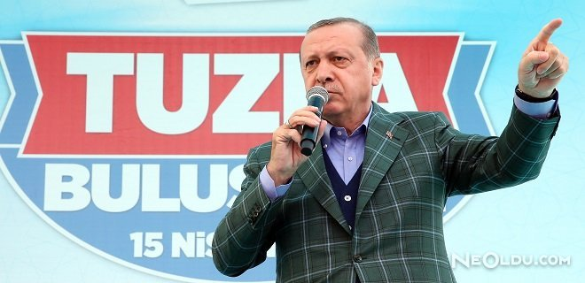 Cumhurbaşkanı Tuzla'da Halka Seslendi